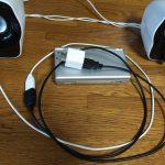 千円台のPC用スピーカーLogicool Z120BWはニンテンドーDS/3DSのスピーカーとしてオススメ!(評価・レビュー、動画付き)