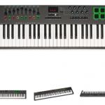 DTMに使えそうな88鍵盤の卓上MIDIキーボードをちょっとまとめてみた【10kg以内】