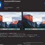KORG microKEY AirをBluetoothでMacと接続する方法。そのままでは繋がらないので「Bluetooth MIDI Connect」を使うよ、というお話。